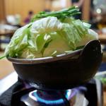 やっぱりラーメン黒野 - もつ鍋 1390円