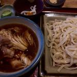 うどん茶屋 三男坊 - つけ鴨 950円
