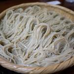 そば処 梅の花 - 蕎麦(3人前の7合)