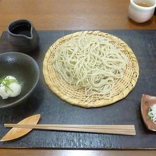 きむら - 料理写真:山わさびおろしせいろ