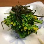 68129517 - 菜の花の昆布〆