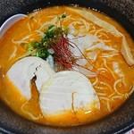 麺屋 甲武信 - 濃厚辛鶏白湯
