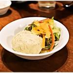 とさか - 燻製のポテトサラダ 600円 燻製inポテサラという珍しい組み合わせ。