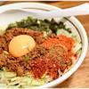 麺 酒 やまの - 料理写真:辛いまぜそば 800円 鉄板の美味さ!