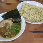 らー麺つけ麺 みやがわ - 濃厚つけ麵(大盛り)2017.06.04