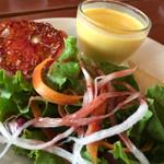 ポパンクールカフェ - セットのサラダ