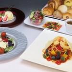 トラットリア ヒューメ - 鵜飼時期限定・京風イタリアンディナー