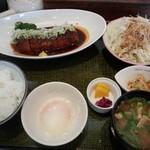 68138223 - ロース味噌カツ膳(1200円)