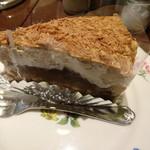 ベーカリーカフェ 明治堂 - アフタヌーンティーのケーキ