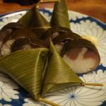 68139839 - 小鯛笹巻と鯖姿寿司