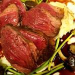 Bistro Sentiment - 料理写真:北海道産蝦夷鹿のロティ