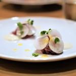 Prune - ブリのスモーク カブラ 柚子のヴィネグレット