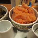 博多もつ鍋 やまや 西宮ガーデンズ店 - 明太子と高菜