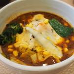 かれー屋ひろし - 野菜カレーにチーズトッピング