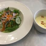 こるく - サラダとスープ