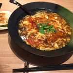 西安健菜キッチン - 酸辣湯麺醤油味
