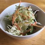スパイスノート - セットのサラダ