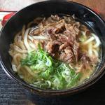 うどん処 来輔 - 料理写真:肉うどん