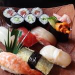 日本料理 しょうあん - お寿司のランチ(琴・2,080円)