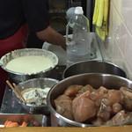 はりや - 天ぷらも揚げたてを出されていました。