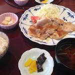 68153381 - 福幸豚ロースの生姜焼き御膳