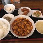 芝蘭 - 四川麻婆豆腐Bセット 1300円