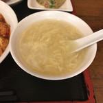芝蘭 - 卵スープ