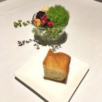 リストランテ カッパス - ランチのパン。