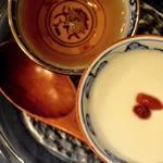 自家製杏仁豆腐