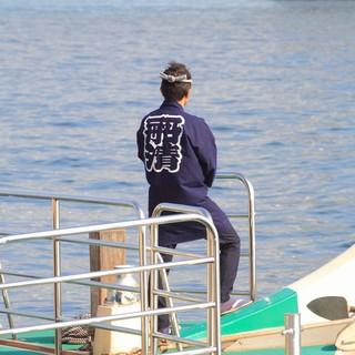 専任の船長が日々メンテナンスしている安心感