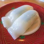 廻鮮すし 玄海丸 - 「真いか」(180円+税)。