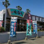廻鮮すし 玄海丸 - トリアス久山の「玄海丸」さん。敷地内に立派な単独店舗。