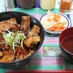 ナマステ・ネパール - 料理写真:NAMASTE NEPAL @板橋本町 ぶた丼 小 税込580円