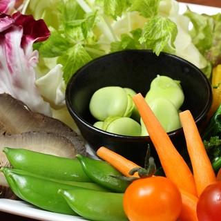 富士山麓直送!オーガニック野菜の盛り合わせ