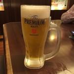 とれとれ屋 - ドリンク写真:生ビール