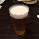真 - 生ビール