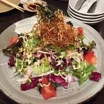 真 - パリパリのジャガイモサラダ