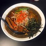 ヘルズキッチン - 完全菜食主義者ヴィーガン仕様「Black Grind Napalm麺」 950円