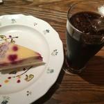 MAR-DE NAPOLI - ケーキとアイスコーヒー