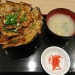 豚丼 黄金豚 - 豚丼 中盛