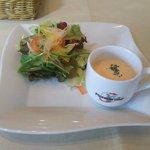 ピッツェリア ナオ - サラダ&カップスープ