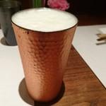 串処 最上 - ビールです