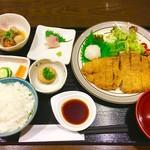 和がや - 料理写真:ロースとんかつ定食 おろしポン酢