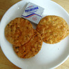 おせんべいやさん本舗 - 料理写真:クリームチーズと煎餅
