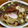 光華飯店 - 料理写真:スープ 太麺 にんにくの香り