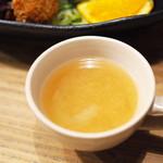 Cafe 婆沙羅 - 洋食プレート 全部のせ