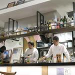 モード カフェ ギャマン - オープン・キッチン