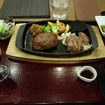 68172362 - みすじステーキ & タルタルハンバーグ(単品)