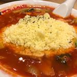 太陽のトマト麺 - 太陽のチーズラーメン♡