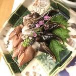 輝らく 伏見 - 春の富山産ホタルイカととり貝を酢味噌で